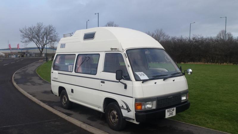 19 Nissan Urvan Motorhome 4 Berth 1992yr In Middlesbrough