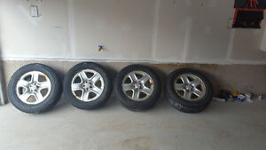 4 Rims/Winter Tires 225/65R17