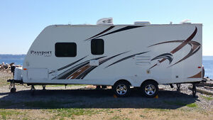 FOR RENT  RV TRAILER 2014 25' PASSPORT 238ML WITH BUNKS from