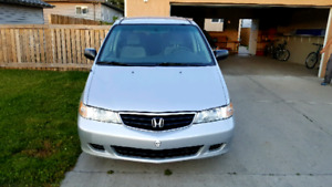 Honda Odyssey only 182Km second owner