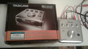 Carte de son Tascam US-322, High-quality HDDA mic pre-amps