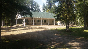 Cottage on 40 acres west of pigeon lake & just 5 mins to golfing