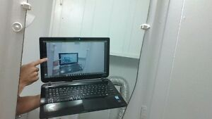 laptop toshiba touch screen for sale 400$ negociable