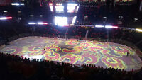 2 Tickets Vancouver Canucks vs Calgary Flames - Below Face