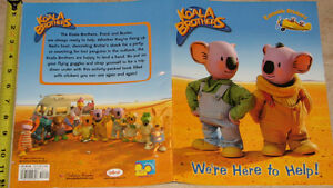 Koala Brothers Book with 2 pages of reuseable stickers!