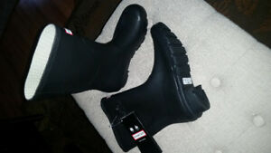 Brand new shorter style women's rubber boots