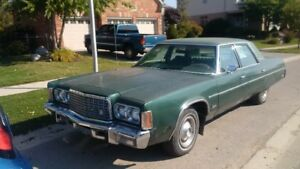 Great Barn Find!!! Classic 1976 Chrysler Newport with 400ci 4BBL