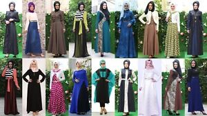 Robe Femme Musulmane Muslim Islamic Wear Dress - Made in TURQUIE