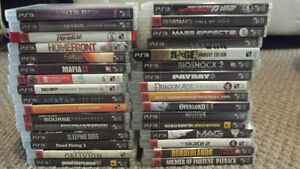 Selling PS3 Game Collection 175$ obo