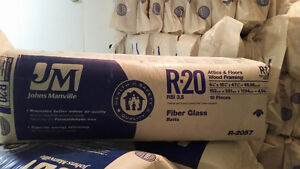 "Brand New JM 15"" R20 Insulation"