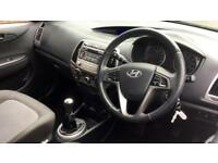 2013 Hyundai i20 1.2 Active 3dr Manual Petrol Hatchback
