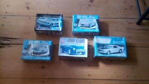 1:24 Scale Ford Mustang Cobra Plastic Models