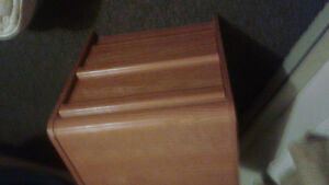 Small 2 drawer end table/dresser