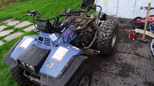 1992 SUZUKI QUAD RUNNER (king Quad) 300 4X4 PARTING OUT