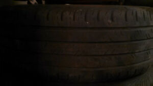 Tires and Aluminum rims for bone stock or street 5x100 London Ontario image 2