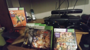 Xbox 360 with Kinect game bundle