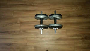 Dumbells and weights
