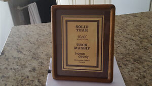 SOLID WOOD PICTURE FRAMES SELECTION OF 4