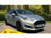 2013 Ford Fiesta 1.0 Zetec 5dr - DAB Radio and Front Electric Windo Hatchback Pe