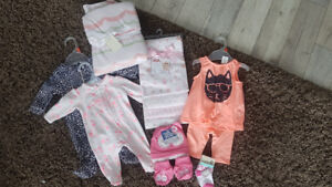 NEW WITH TAGS! Baby girl items