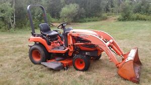 "2011 BX2360 Kubota Tractor/ Loader/60"" mower. Reduced  $11500.00"