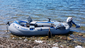 Original Sea Eagle 9 boat (with or without 4hp Evinrude)