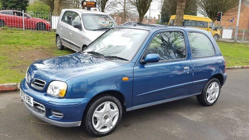 nissan micra 1 0 twister blue 2002 in bilston west. Black Bedroom Furniture Sets. Home Design Ideas