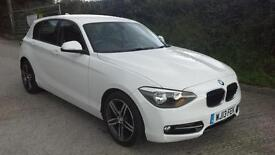 BMW 114 1.6TD Sports Hatch 2013 d Sport SPARES OR REPAIR DAMAGED SALVAGE