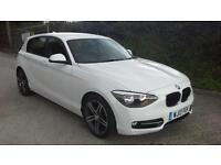 BMW 114 1.6TD Sports Hatch 2013 d Sport SPARES OR REPAIR DAMAGED SALVAGE