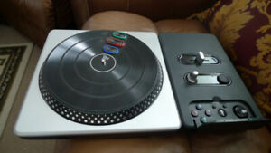 DJ Hero Wireless Turntable for PS2 and PS3