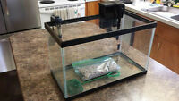 10-Gallon Fish Tank with stand and accessories