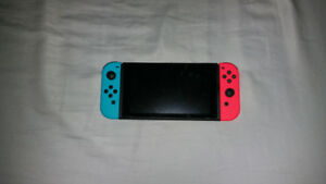 Nintend switch for sale with Super Mario Odyssey.