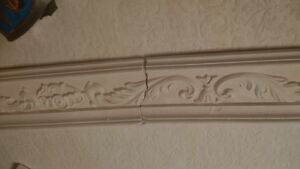 plaster of paris antique crown or chair rail London Ontario image 1