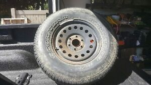 2007 chevy 1500 spare tire and rim