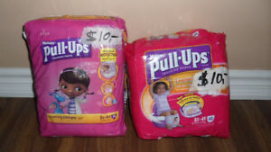 PULL UPS/TRAINING PANTS 3-4t OR 4-5t
