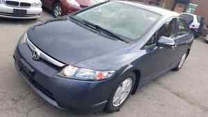 2008 HONDA CIVIC HYBRID WITH CERTIFIED