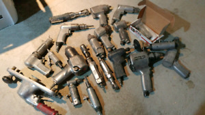 Load of power tools