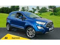 2019 Ford EcoSport 1.0 EcoBoost 125ps Titanium Au Automatic Petrol Hatchback