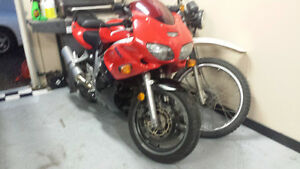 2000 Suzuki sv650s v-twin..trade for quad