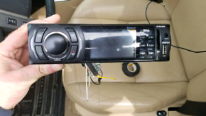 Boss bluetooth stereo with usb/sd card/aux
