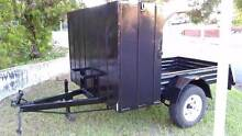 6' x 4' x 1' Tray with large box Ideal tradie trailer Woodridge Logan Area Preview