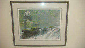 Robert Bateman Giant Panda , professionally framed  $625