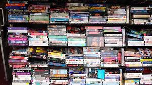 (72) VHS Movies
