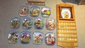 Winnie the Pooh THE WHOLE YEAR THROUGH perpetual calendar set