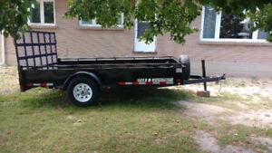 7x12 Jenson heavy duty utility trailer