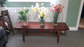 Gplan style coffee table
