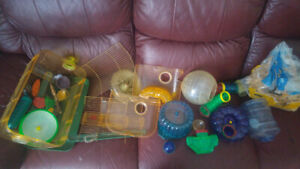 Hamster / Gerbil Habit Trail and cage parts