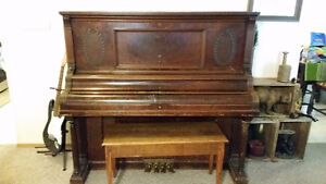 Antique Bell Piano