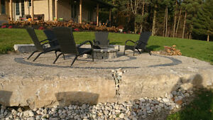 Outdoor kitchens/sidewalks & Fire pits London Ontario image 6
