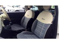 2016 Fiat 500 1.2 Lounge 2dr (Start Stop) Manual Petrol Convertible
